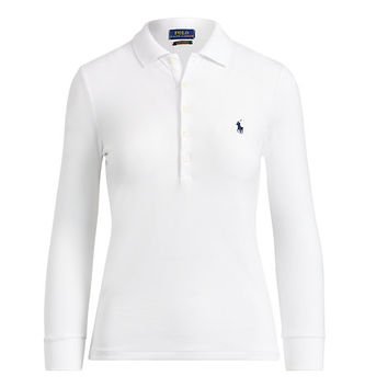 SKINNY FIT STRETCH POLO SHIRT