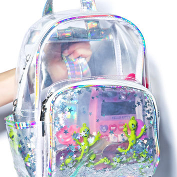 Aliens R Watchin' Backpack METALLIC One