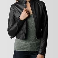 WOMENS LEATHER JACKET - Outerwear | True Religion Brand Jeans