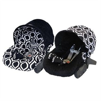 Infant Car Seat Cover in Moroccan Nights