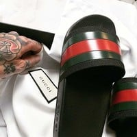 Gucci Casual Fashion men and women Sandal