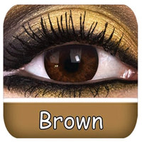Brown Contact Lenses | Natural Brown Contact Lenses