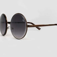 Quay Chelsea Girl Copper Sunglasses