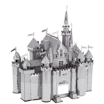 Disney Parks Sleeping Beauty Castle Metal Model Kit 3D New