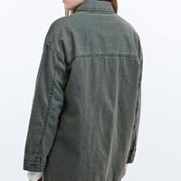 """BDG – Army-Jacke """"The Outback"""" aus Leinen - Urban Outfitters"""