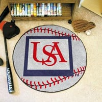 University of South Alabama Baseball Rug