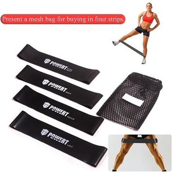 2017 New Fitness Equipment Stretch Resistance Bands Crossfit Yoga Rubber Loop Sport Training Equipment