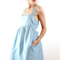 Girl Next Door Chambray Dress