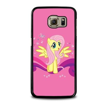 my little pony fluttershy samsung galaxy s6 case cover  number 1