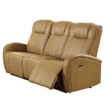 Easy Living Swiss Power Reclining Sofa with USB | Tan
