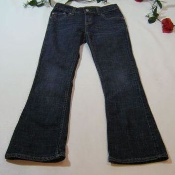 cute Levis Signature Bootcut Girls Jeans Pants size 12