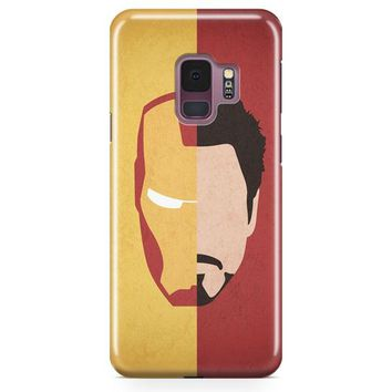 Iron Man Heart Samsung Galaxy S9 Case | Casefantasy