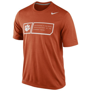 Nike Clemson Tigers 2014 Football Sideline Training Day Legend Dri-FIT Performance T-Shirt - Orange