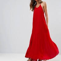 Missguided Pleated Maxi Dress at asos.com