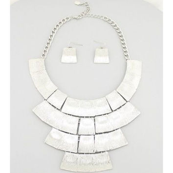 Cleopatra Bib Necklace