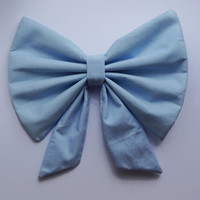 Princess Ariel Blue 'Kiss The Girl' Large Hair Bow Clip The Little Mermaid Ladies Girls Womens