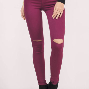 Jourdanna Distressed Skinny Jeans