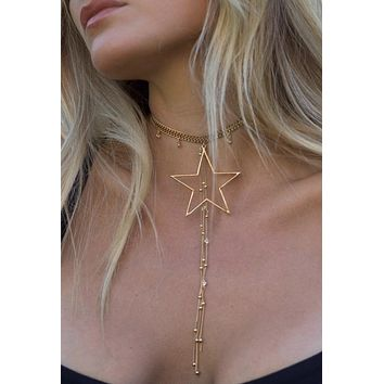 Majestic Star Choker Necklace from Ettika