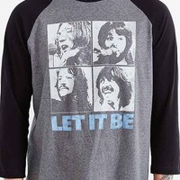 Beatles Raglan Tee- Charcoal
