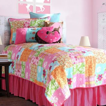 Cowgirl Quilt Bed Skirt
