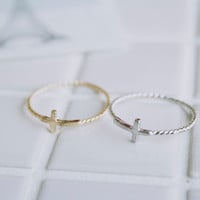 cross rings/religious rings/womens rings/unique rings