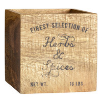 H&M Small Wooden Box $12.95