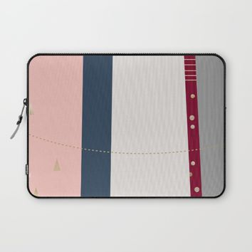 a few golden dots Laptop Sleeve by Ia Po