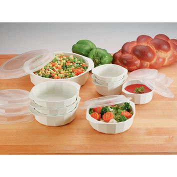 LaCuisine 18pc Microwave Cookware Set