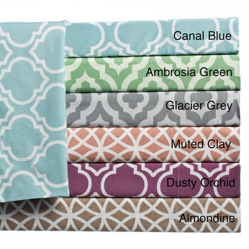 Home Fashion Designs Arabesque Collection Super Soft Double Brushed Microfiber Printed Luxury Sheet Set | Overstock.com Shopping - The Best Deals on Sheets