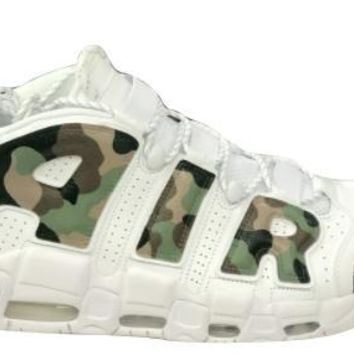 spbest Custom Nike Air More Uptempo Camo