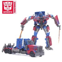 2018 17cm Transformers Toys Studio Series 05 Voyager Class Movie 2 Optimus Prime Voyager Class Starscream Collection Model Dolls