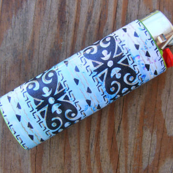 Egyptian Pattern Bic Lighter