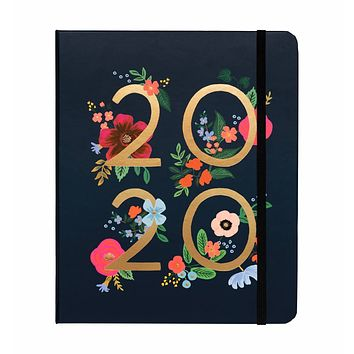 RIFLE PAPER CO. 2020 WILD ROSE CLASSIC COVERED SPIRAL BINDING