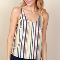 Colorful Daze Stripe Tank Lifesavor