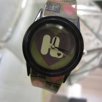HARAJUKU LOVERS Gwen Stefani Watch l.a.m.b. NWT hearts goth kawaii cute rare