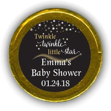 Twinkle Little Star Baby Shower Chocolate Coins