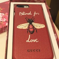 GUCCI Iphone 7/8plus gucci lovers' protection set x