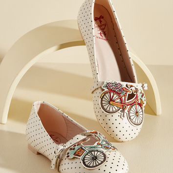 Make Great Rides Flat | Mod Retro Vintage Flats | ModCloth.com