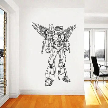 Transformers Wall Decal,Prime Wall Sticker,Bumblebee wall decal,Kids Wall sticker,Bedroom Wall Sticker,Nursery wall decal kau 269