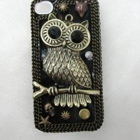 Vintage Owl Case for iPhone4/4s