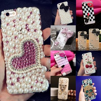 Glitter Rhinestone Case Cover For Samsung galaxy A5 2016 A510/A5+,Acrylic DIY Unique Diamond Protective Shiny mobile phone shell