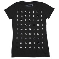Imagine Dragons Stacked Logo Juniors T-Shirt
