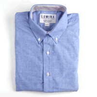 Blue Cambridge Oxford - The Graham Button Down