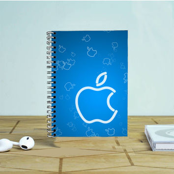 Apple Blue- Photo Notebook Auroid