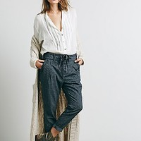 Free People Womens Hi Rise Menswear