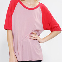 Urban Outfitters - Mouchette Colorblock Raglan Tee