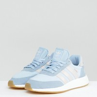 adidas Originals Pale Blue Iniki Sneakers at asos.com