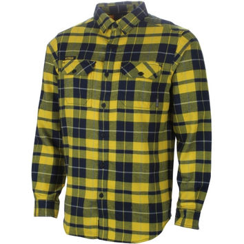Michigan Wolverines Columbia Collegiate Flare Gun Omni-Shield Flannel Shirt – Maize