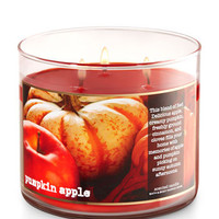 Pumpkin Apple 3-Wick Candle | Bath And Body Works