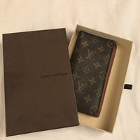 louis vuitton wallet 100% Authentic